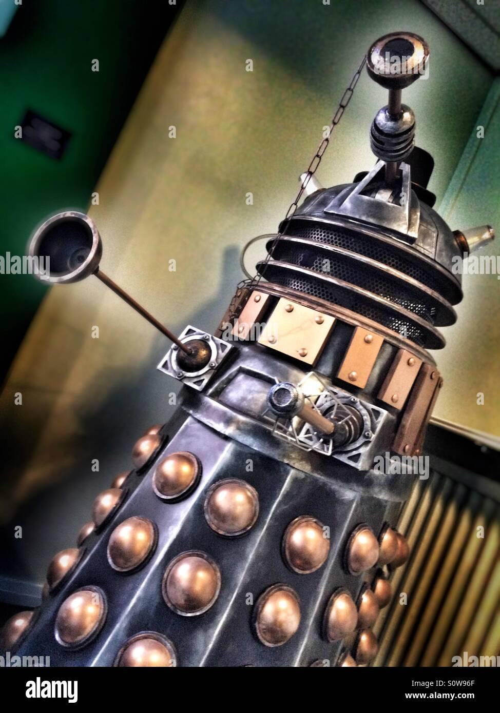 Dalek from BBC Doctor Who TV Show - Stock Image