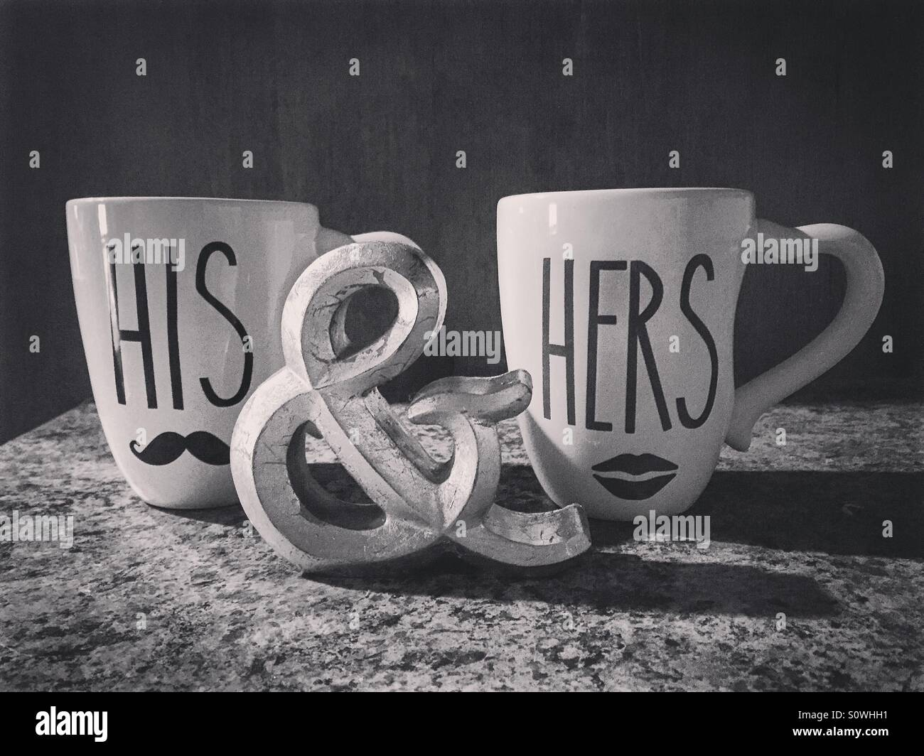His and Hers - Stock Image