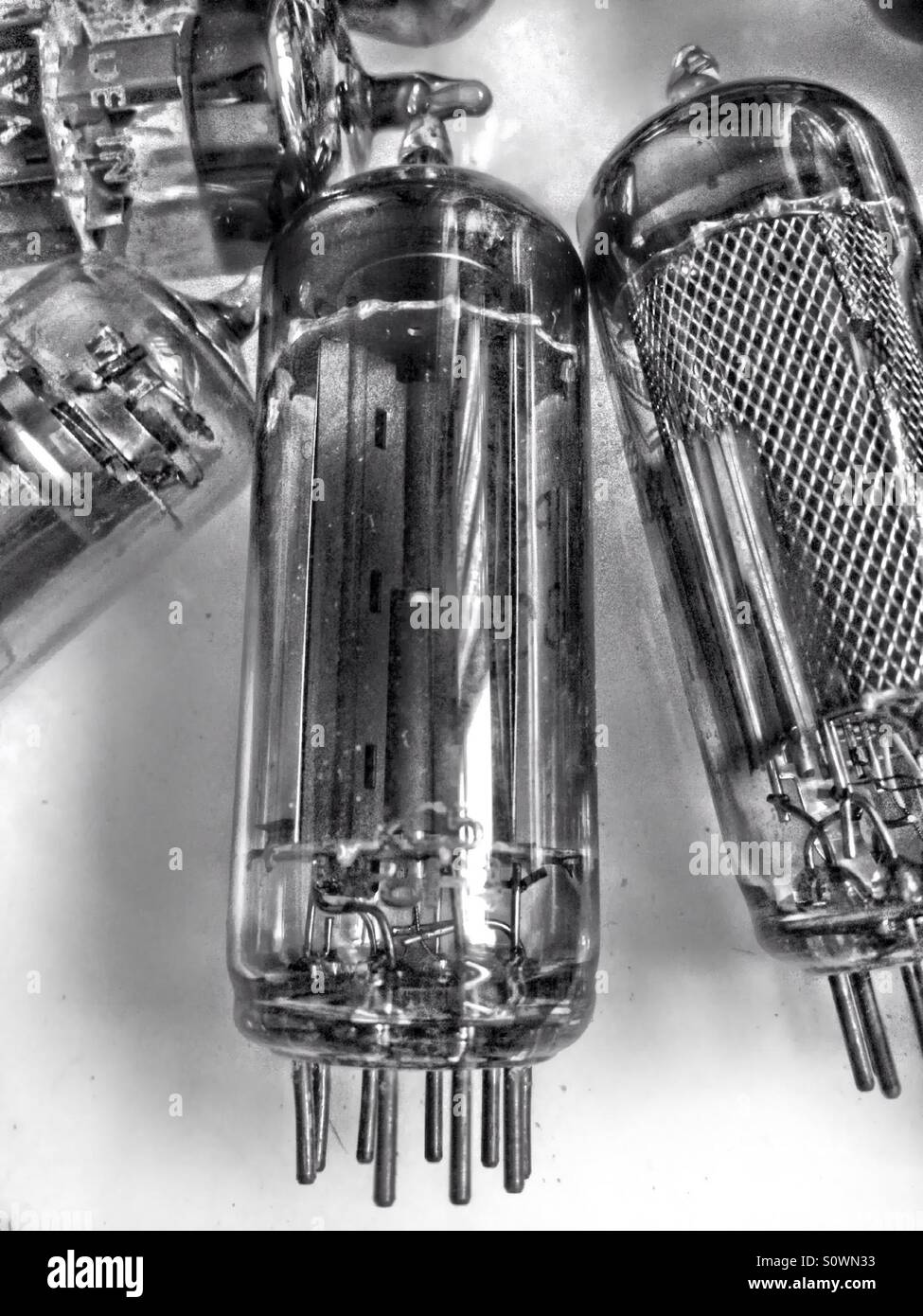 Vintage radio and television valves Stock Photo: 310351975 - Alamy