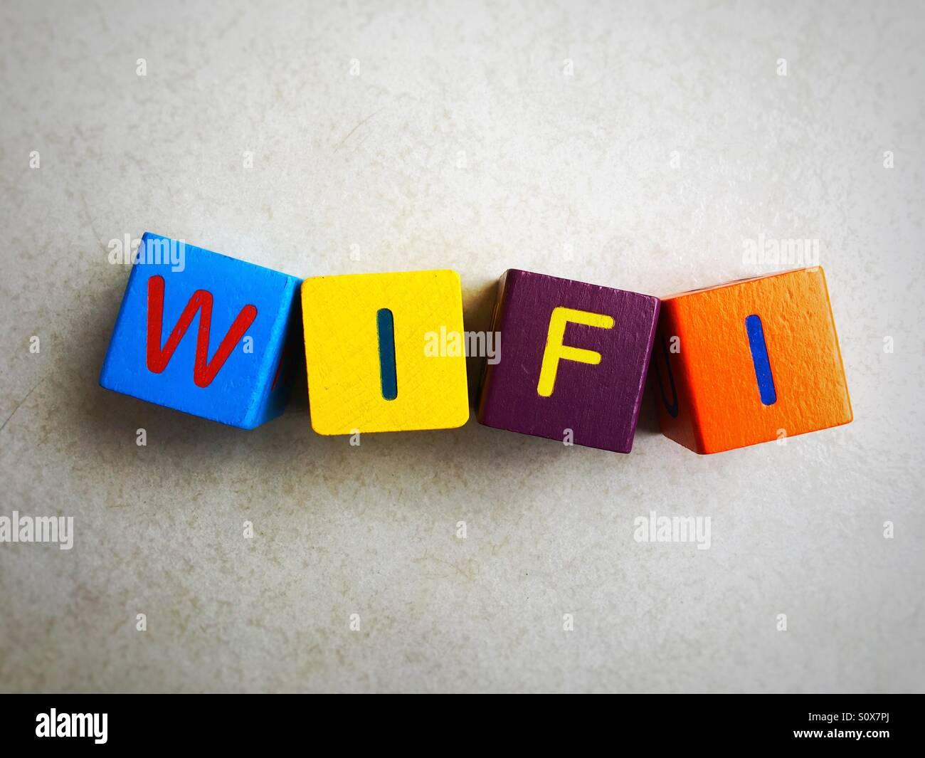 Wifi - Stock Image