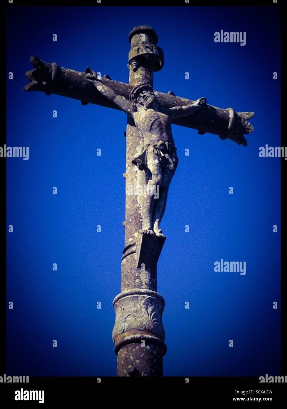 Sone crucifix Stock Photo