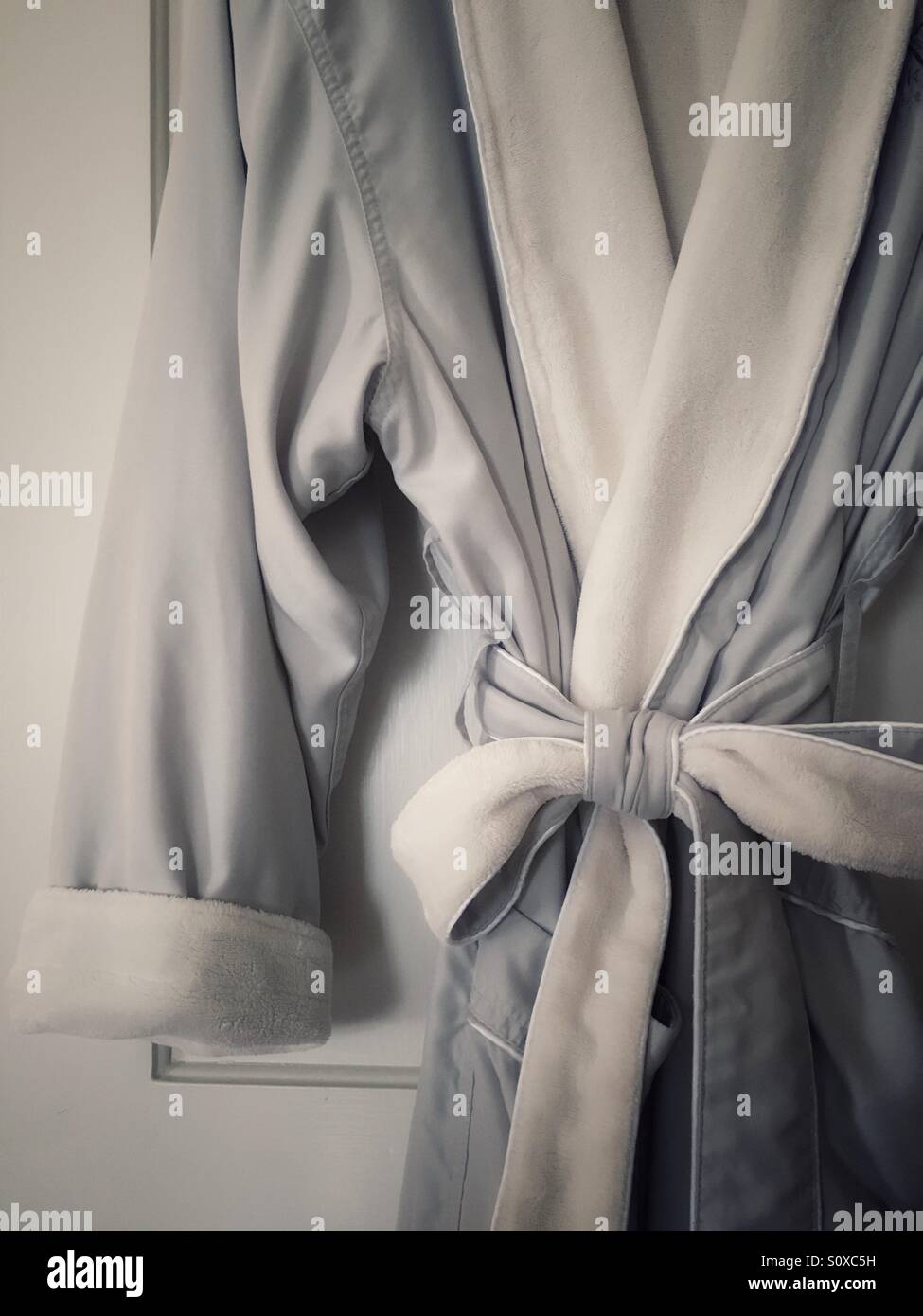 Robe in boutique hotel - Stock Image