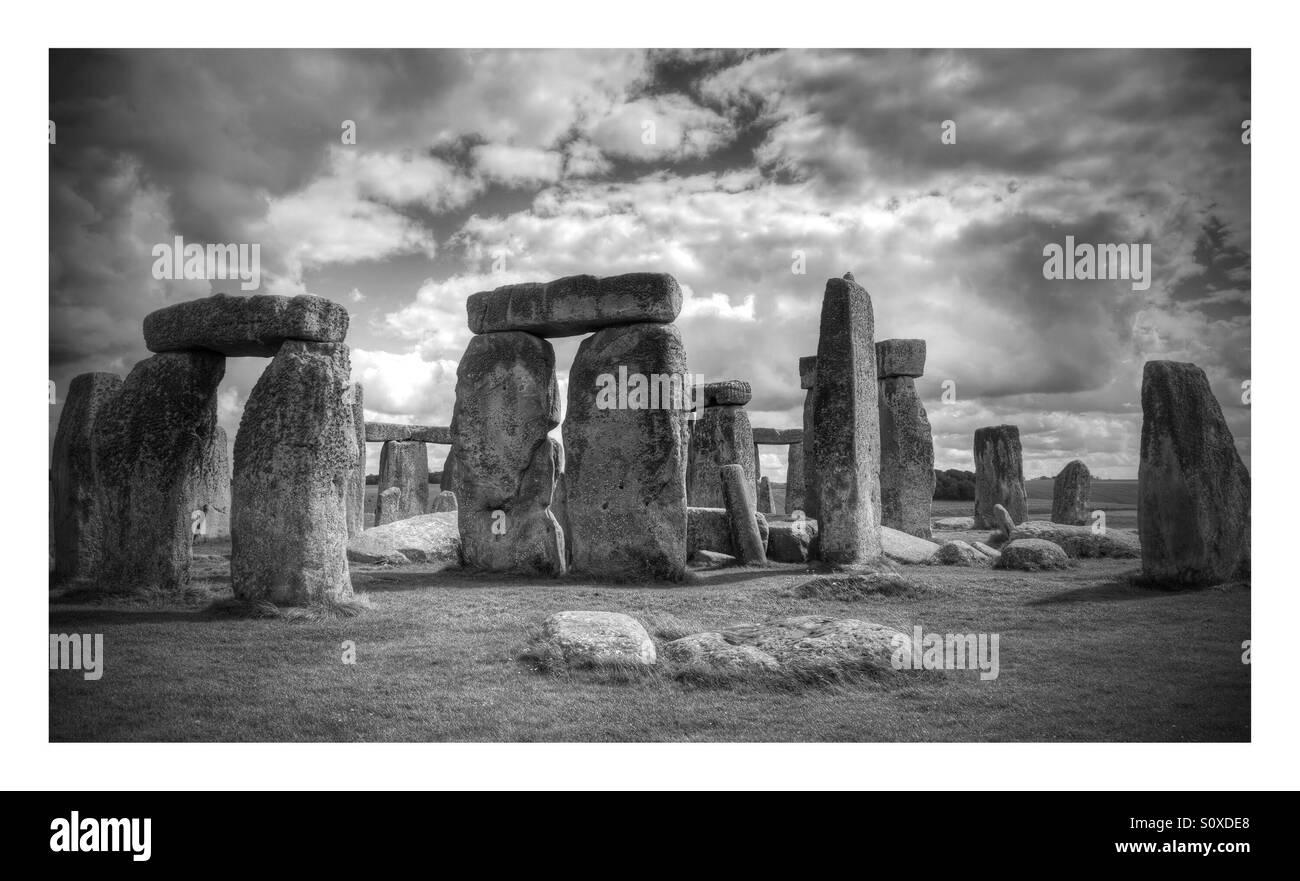 Stonehenge, Wiltshire, England - Stock Image