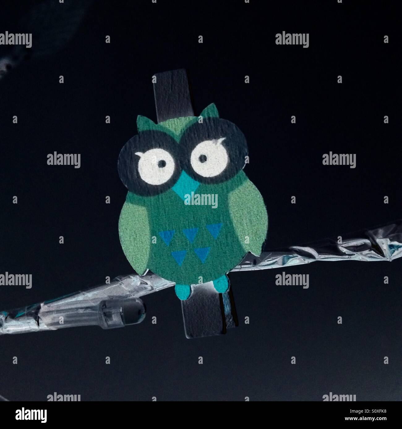Weird owl thing - Stock Image