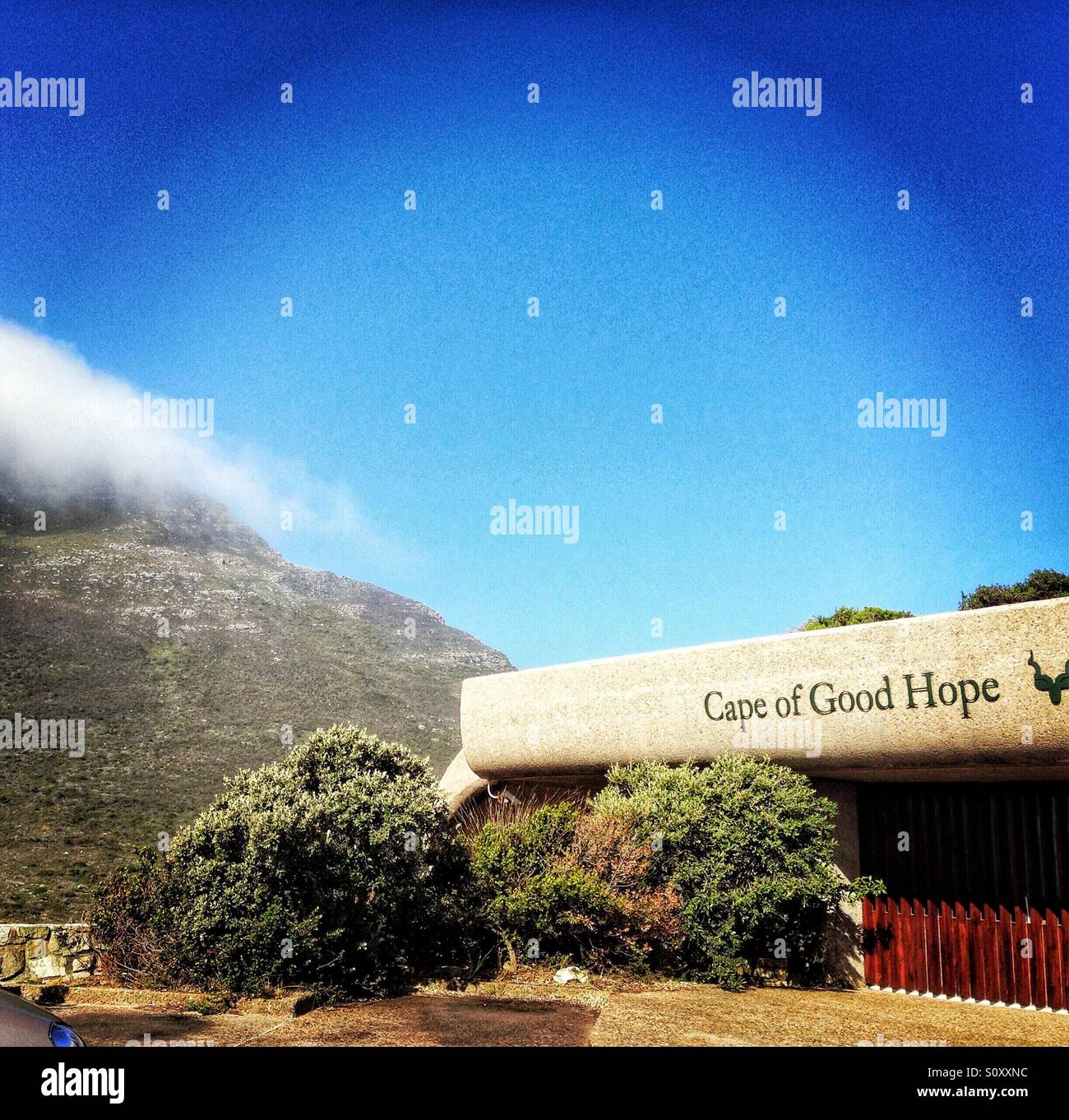 Cape of Good Hope, Cape Town, South Arica - Stock Image