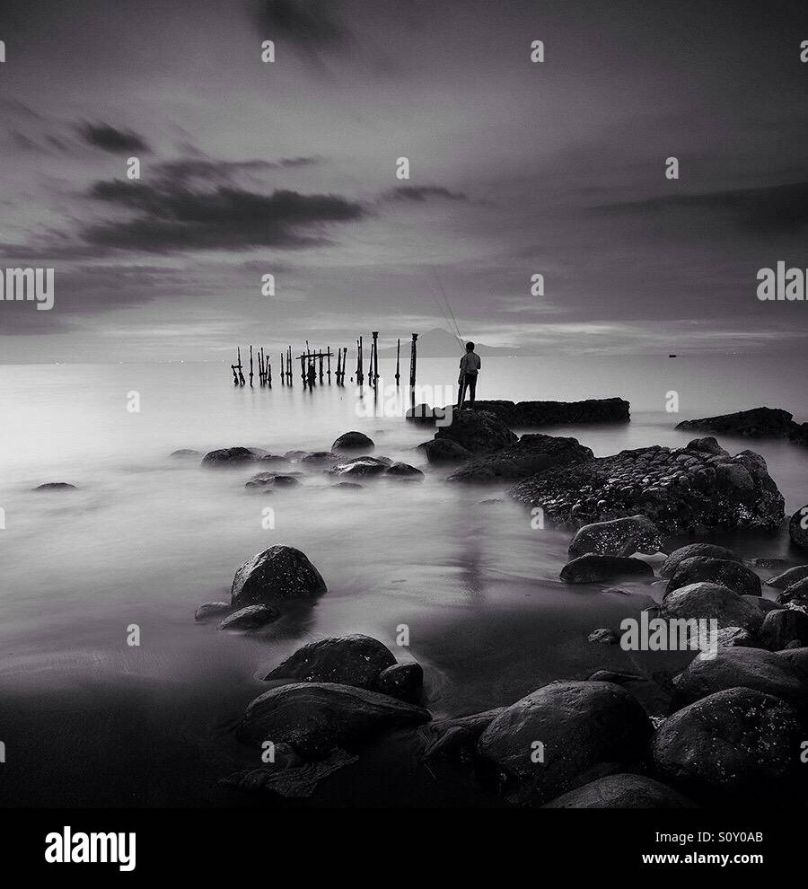 The fisherman Stock Photo