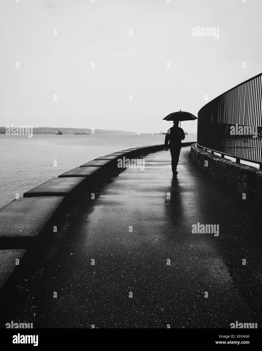 More rain - Stock Image