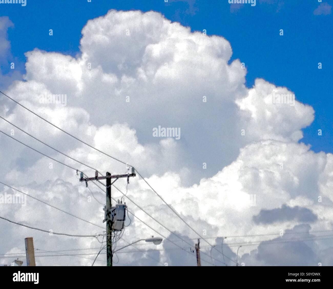 billowy  Billowy clouds Stock Photo: 310390246 - Alamy