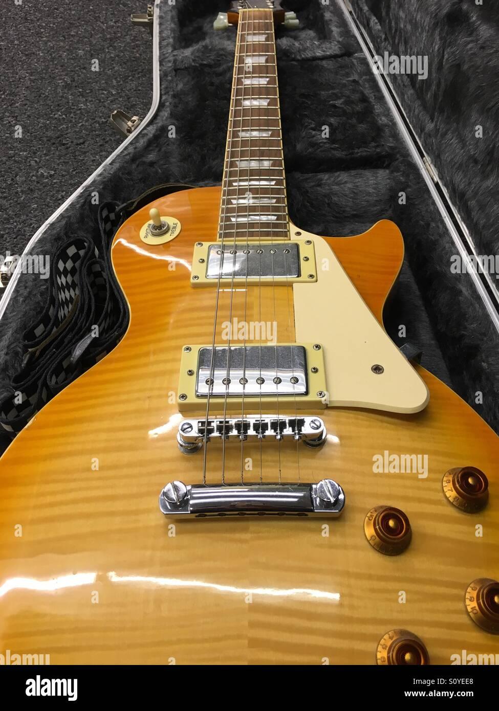 Gibson Epiphone Les Paul Custom Guitar Stock Photo 310390704 Alamy