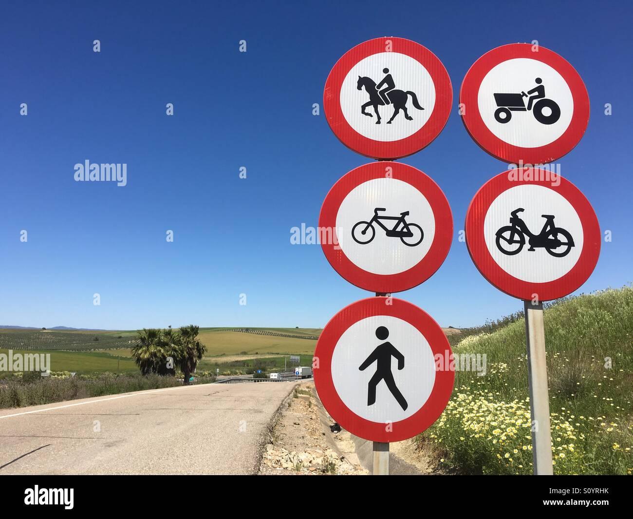 Spanish Traffic Signal Limited Speed 30km Stock Photo (Edit Now ...