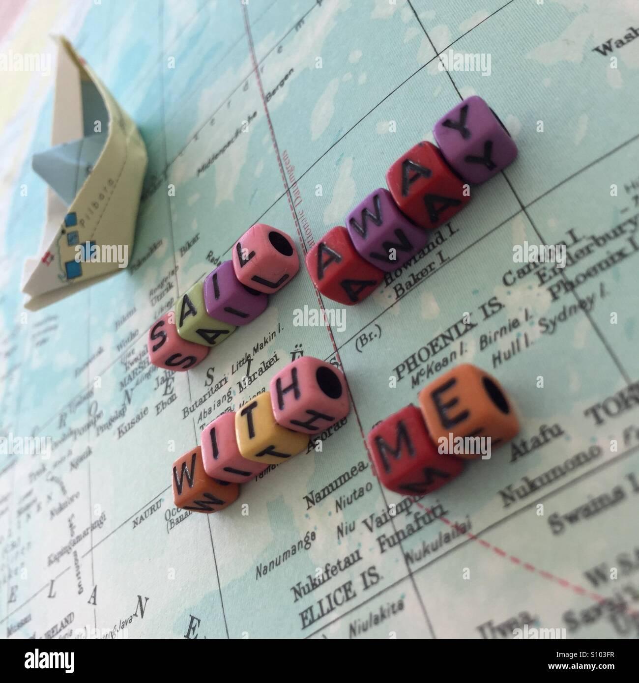 Sail away - Stock Image