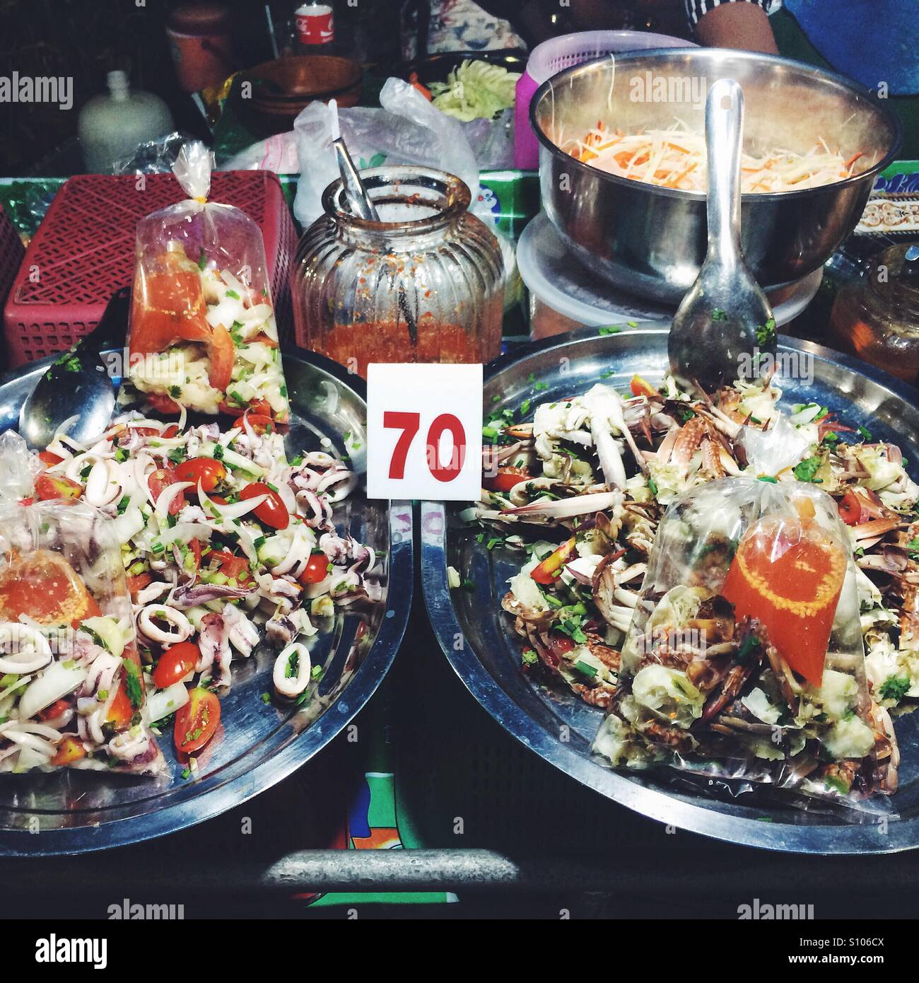 Street Food Krabi Thailand Stock Photo 310406346 Alamy