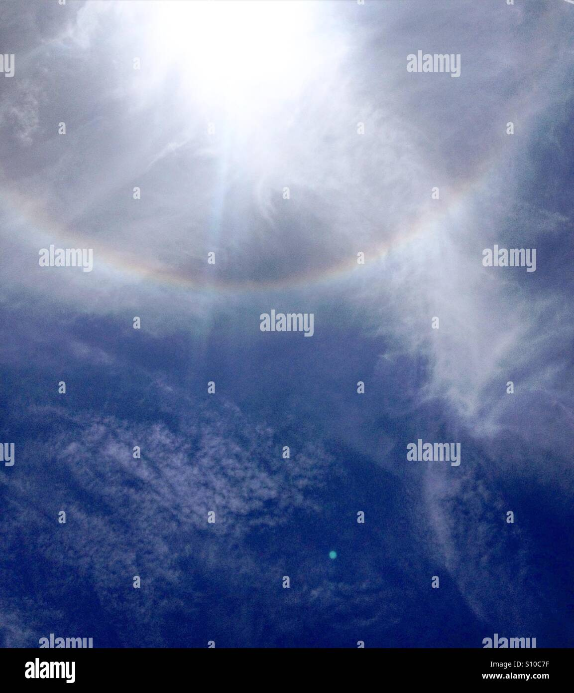 Sunbow - Stock Image