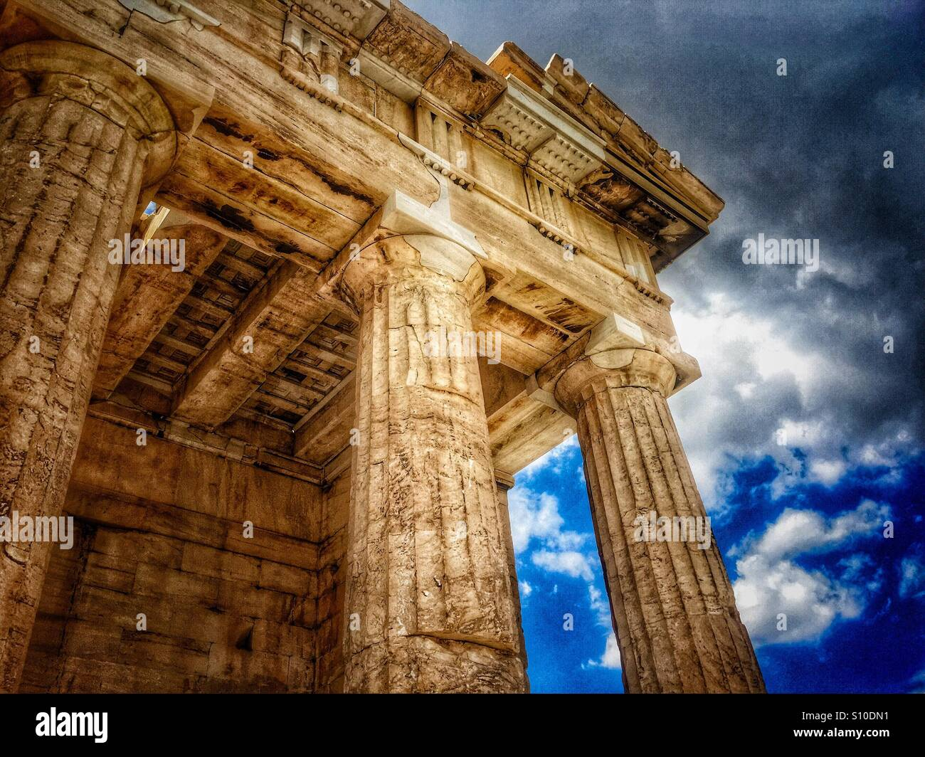 Ancient Greek Architecture Stock Photos Ancient Greek Architecture