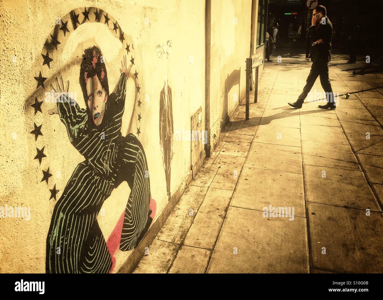 David Bowie Mural Stock Photos & David Bowie Mural Stock Images - Alamy