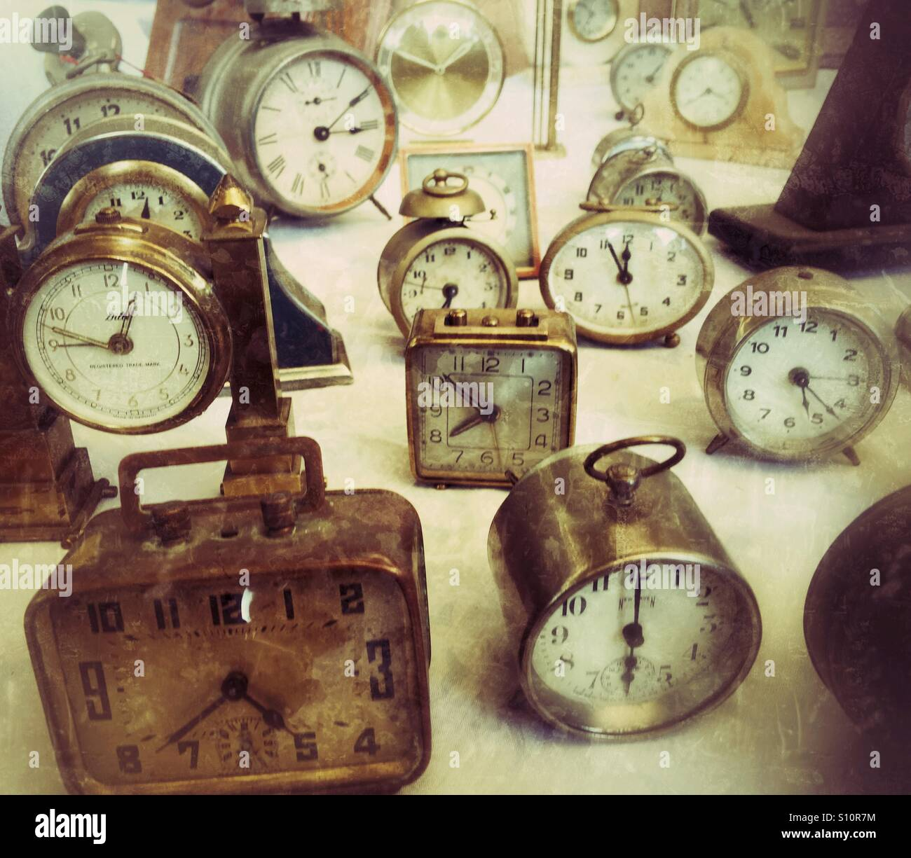 Time keeping - Stock Image