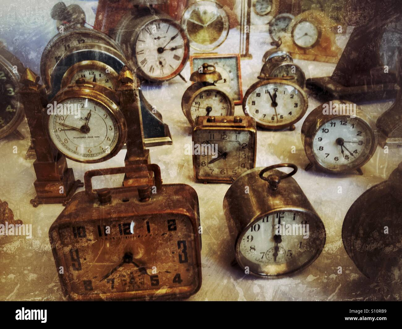Time and time - Stock Image