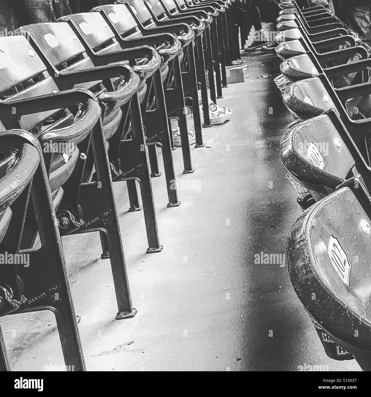 Empty Bleachers Seats Stock Photos & Empty Bleachers Seats