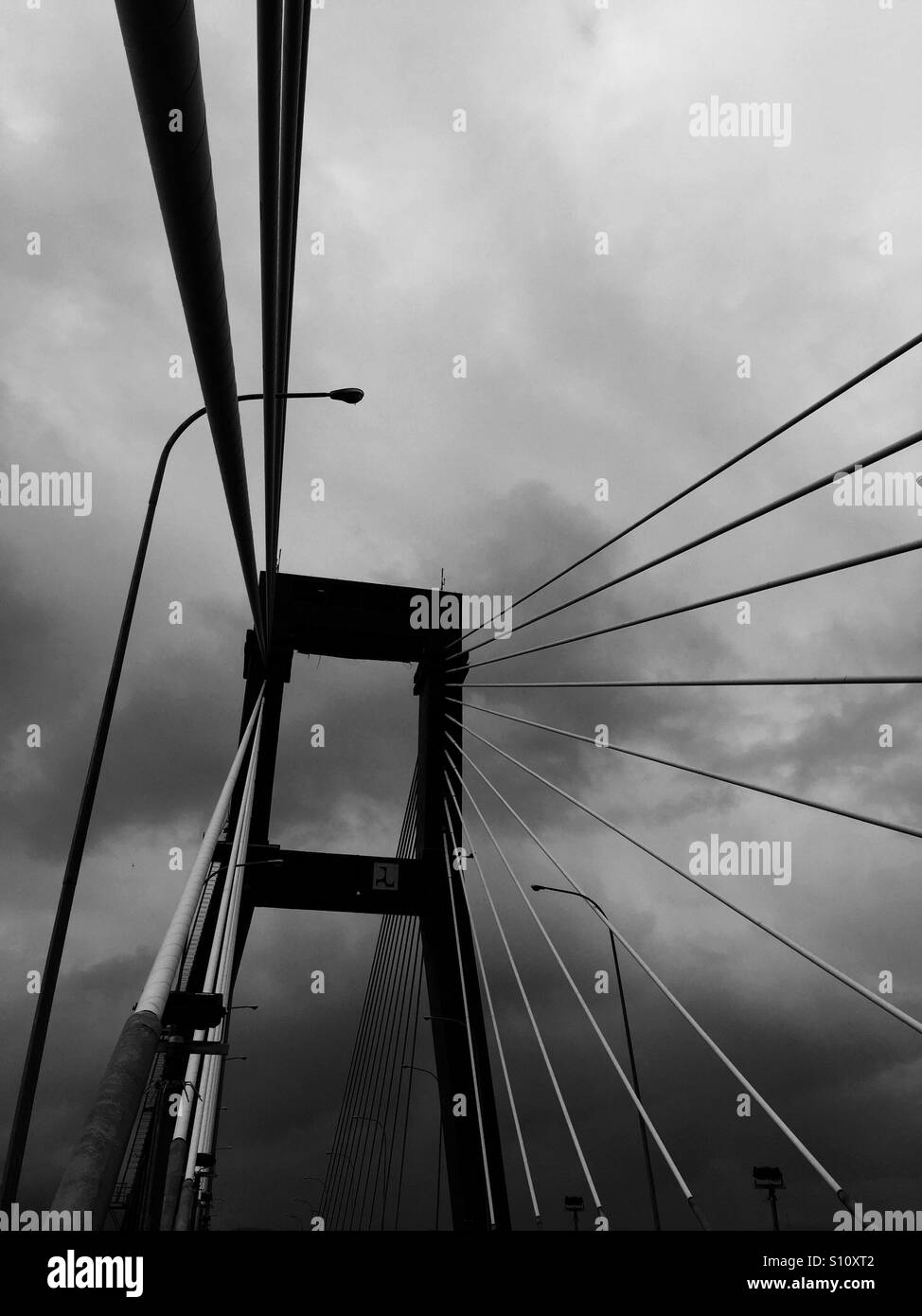 Sukarno Bridge, Manado, North Sulawesi, Indonesia - Stock Image