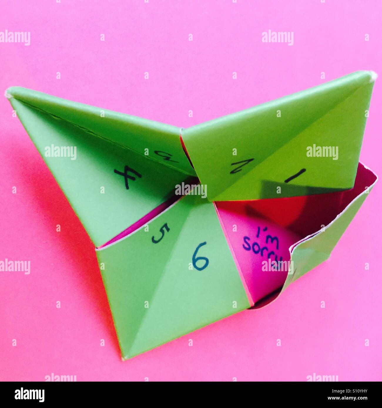 How to Make a Paper Fortune Teller – Boys' Life magazine | 1390x1300