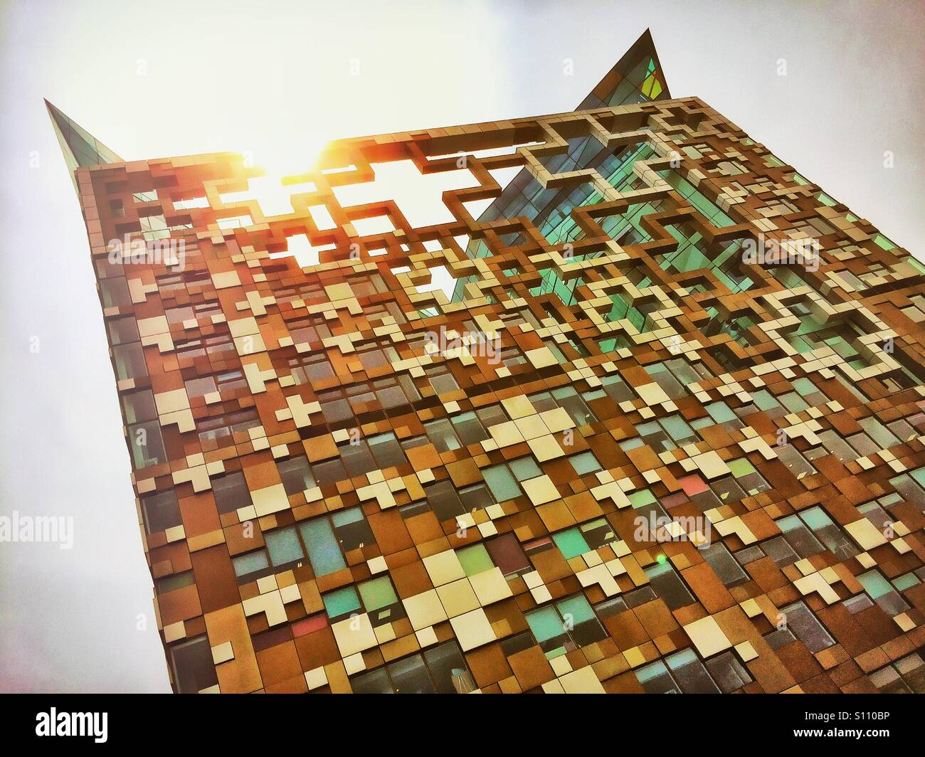 The Cube. Birmingham. U.K. - Stock Image