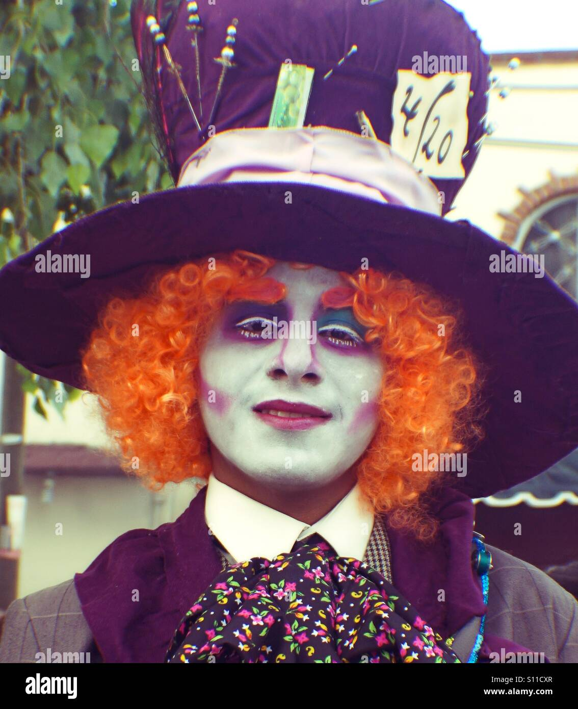 The Mad Hatter - Stock Image
