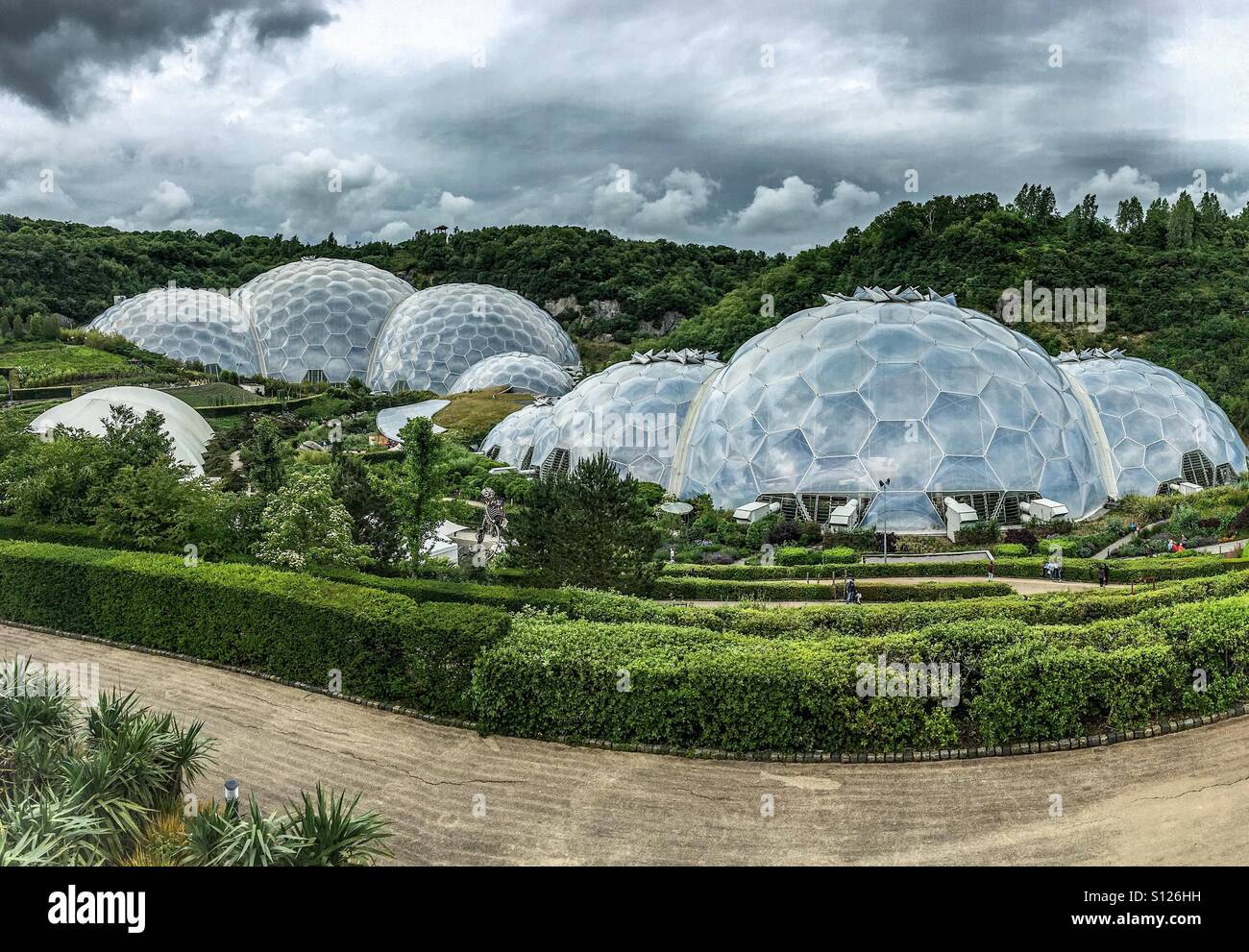Eden project - Stock Image