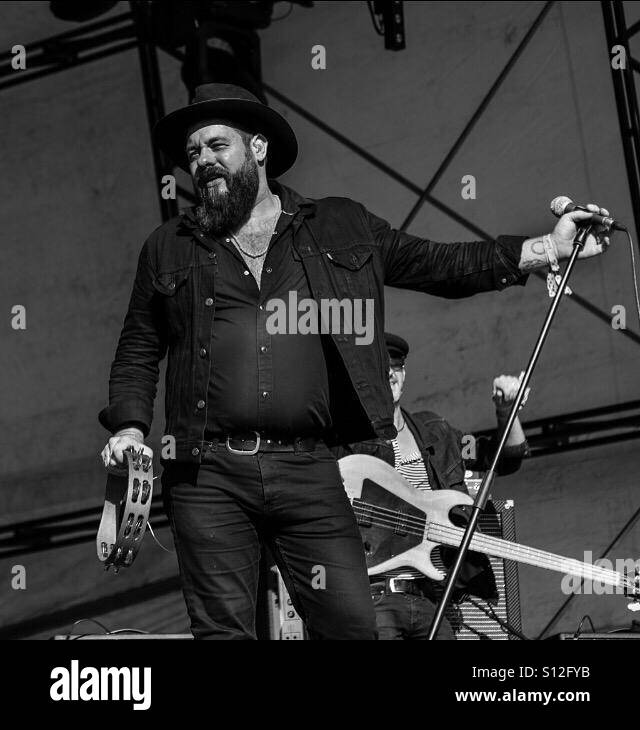 Nathaniel Rateliff and the Night Sweats Stock Photo: 310457711 - Alamy