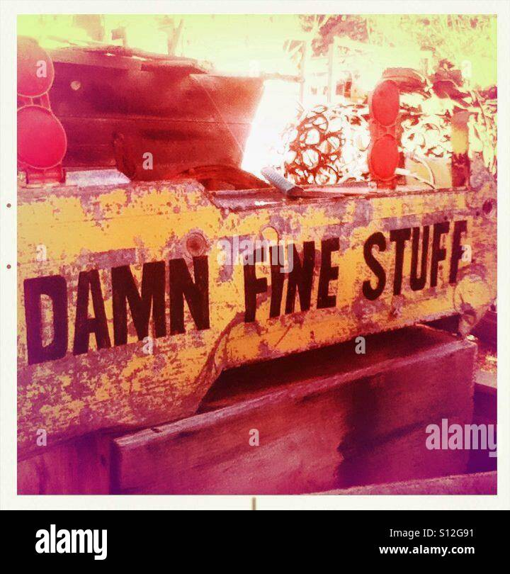 Damn Fine Stuff - Stock Image