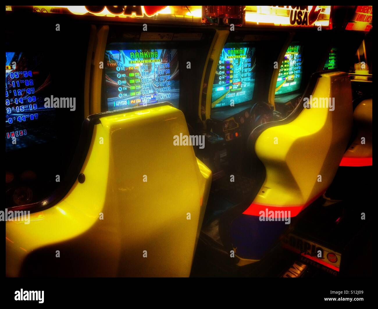 Amusement arcade game at Canal Walk , Cape Town, South Africa. - Stock Image