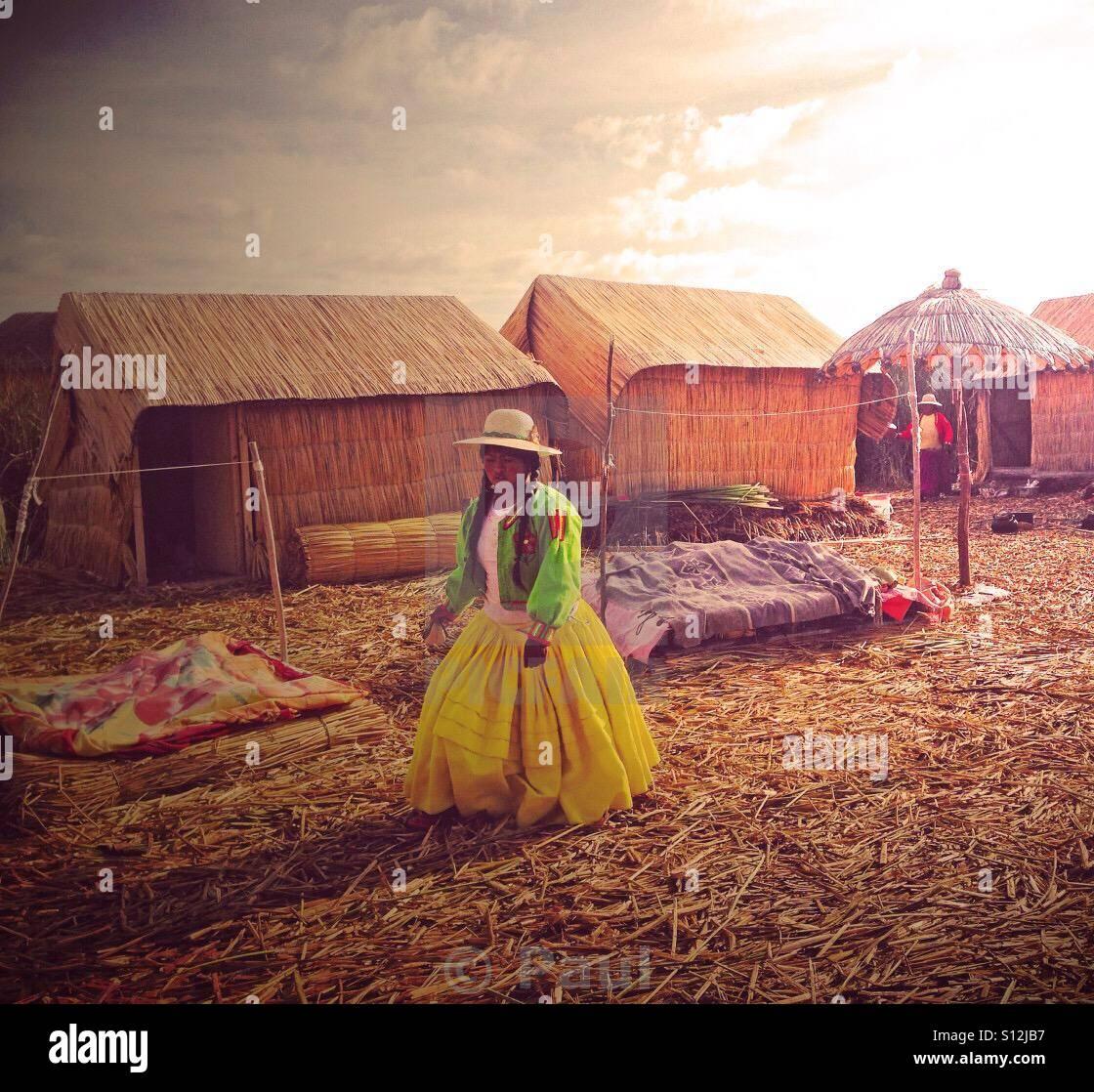 Uro girl - Stock Image