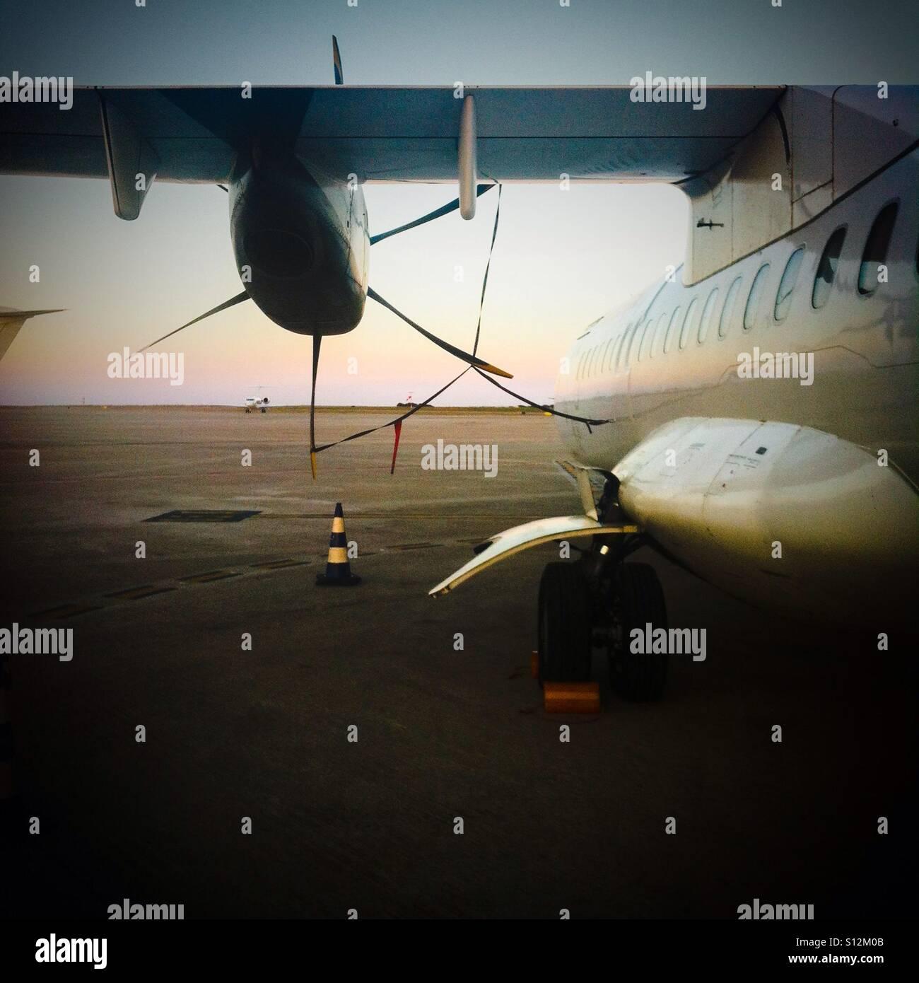 Propeller plane - Stock Image