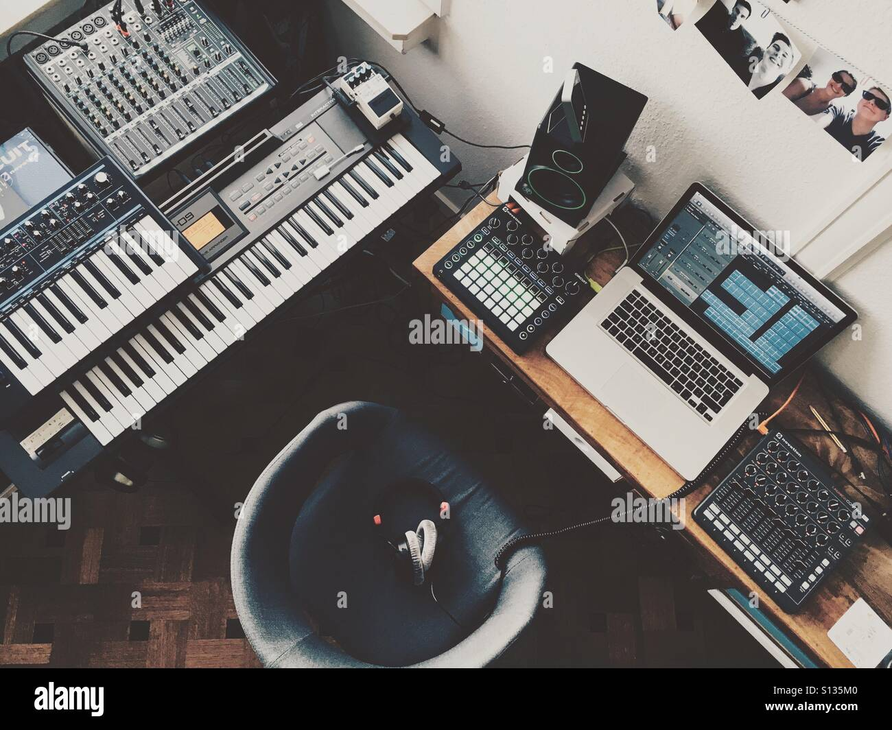 Music Studio - Stock Image