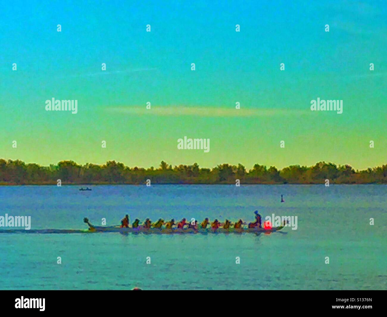 Dragon boat races - Stock Image
