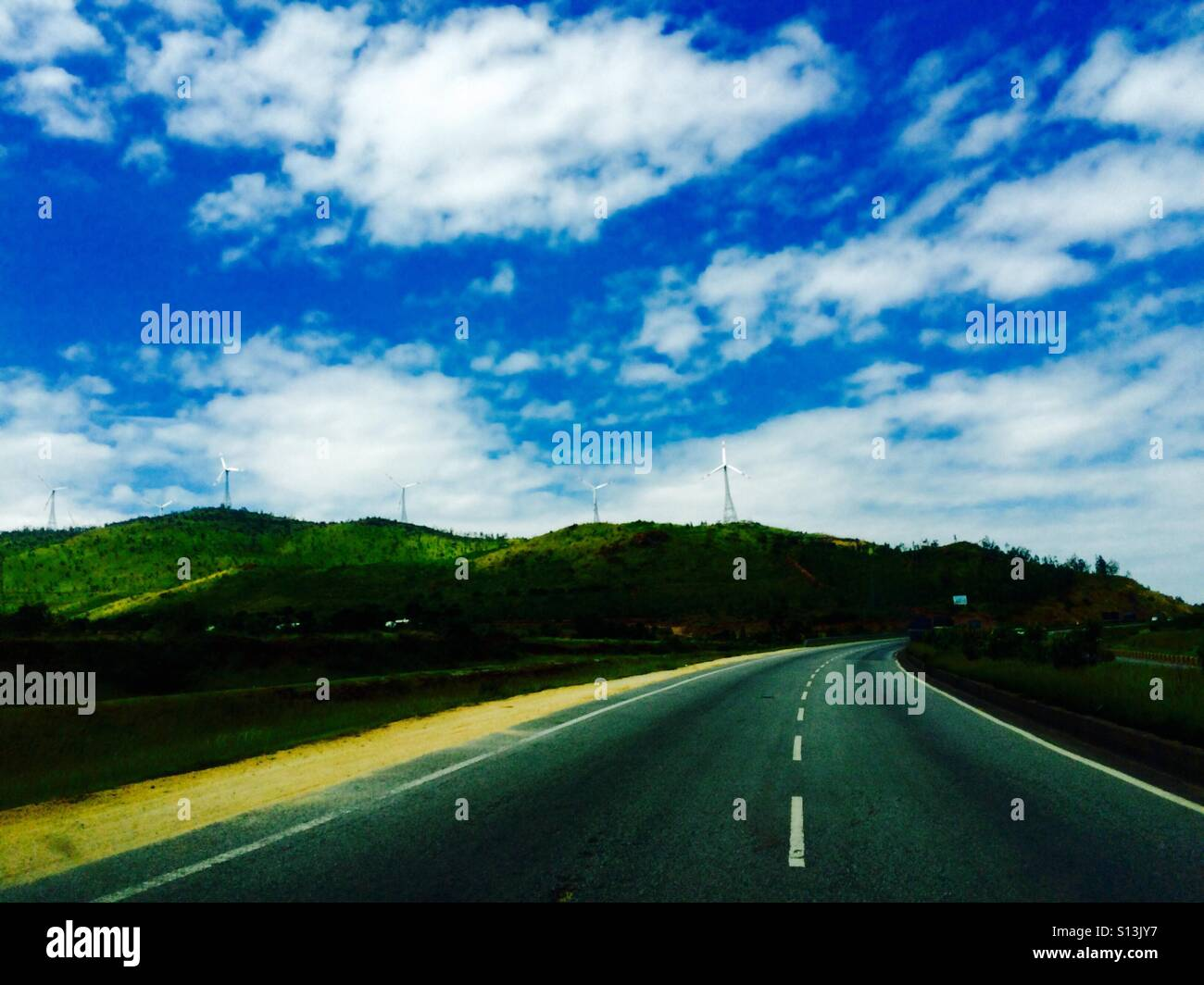 Road !!! - Stock Image