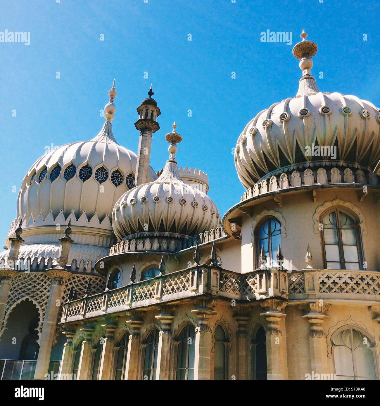 Brighton Pavillion in Brighton Sussex England UK - Stock Image