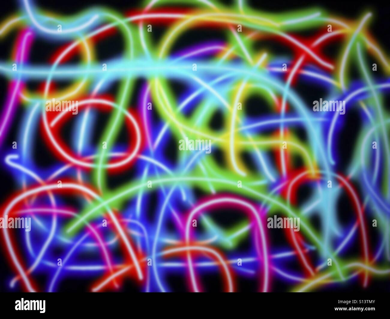 Light effects. - Stock Image