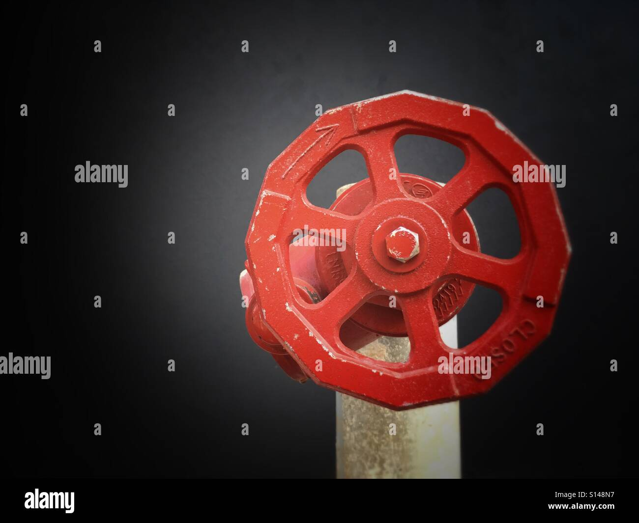Fire safety equipment. - Stock Image