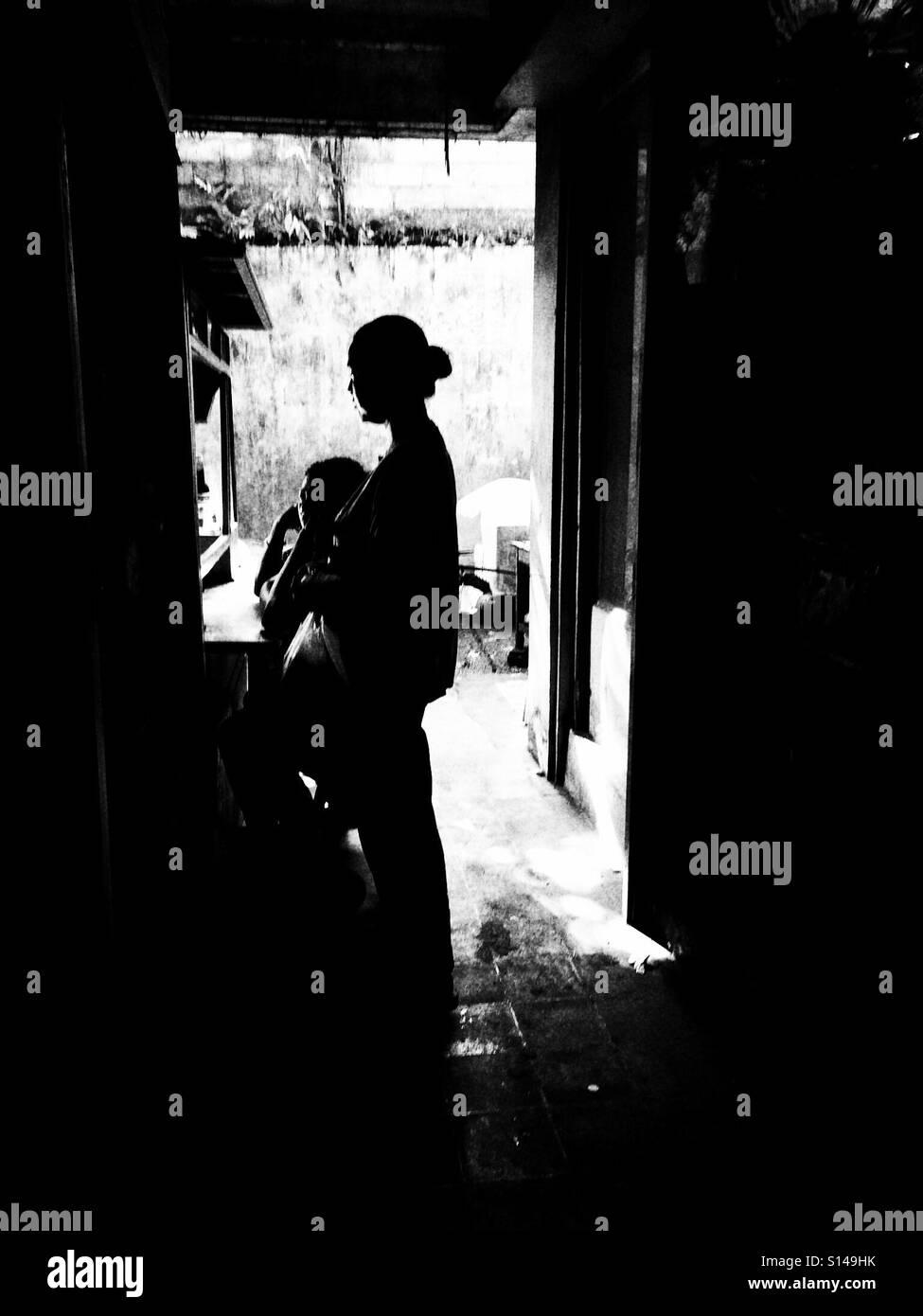 Ubud Market Woman  -Bali- - Stock Image