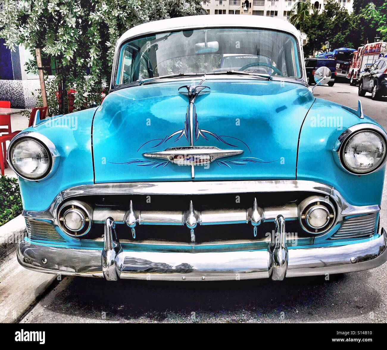 All Chevy chevy 210 : 1953 Chevy 210 classic American Car Stock Photo, Royalty Free ...