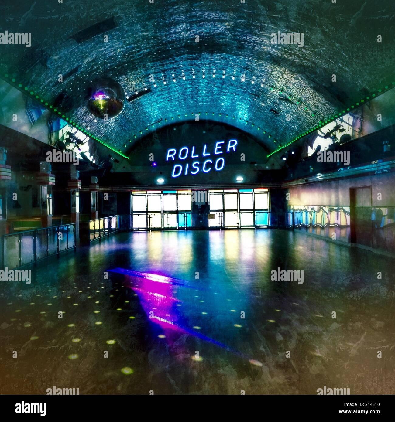 Roller Disco Stock Photos Amp Roller Disco Stock Images Alamy