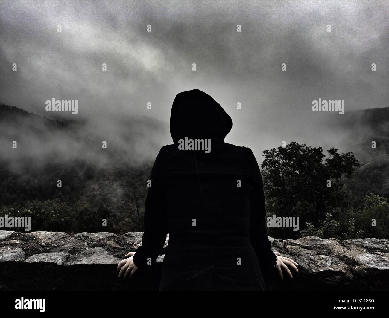 Darkness - Stock Image