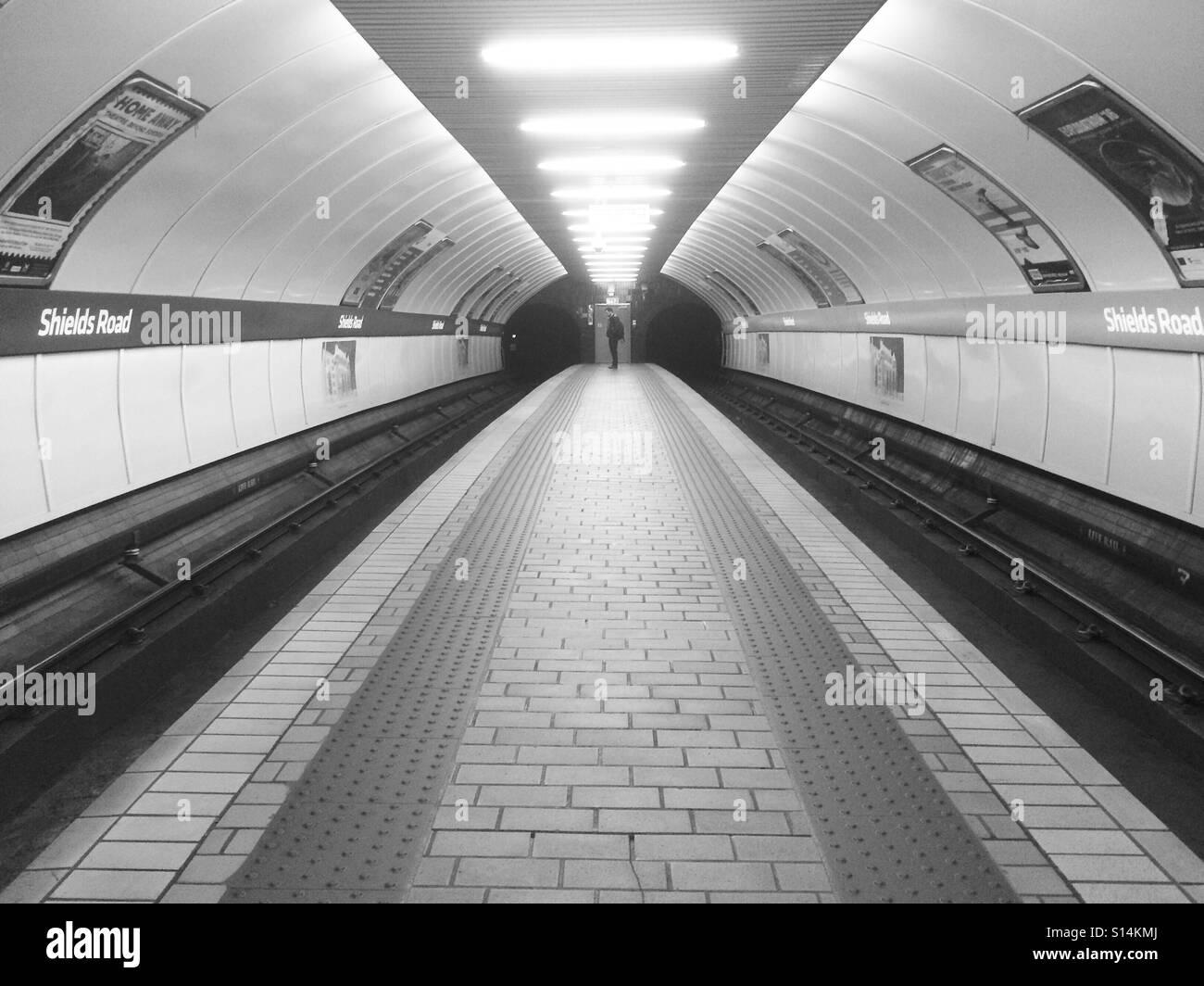 Glasgow Subway! - Stock Image