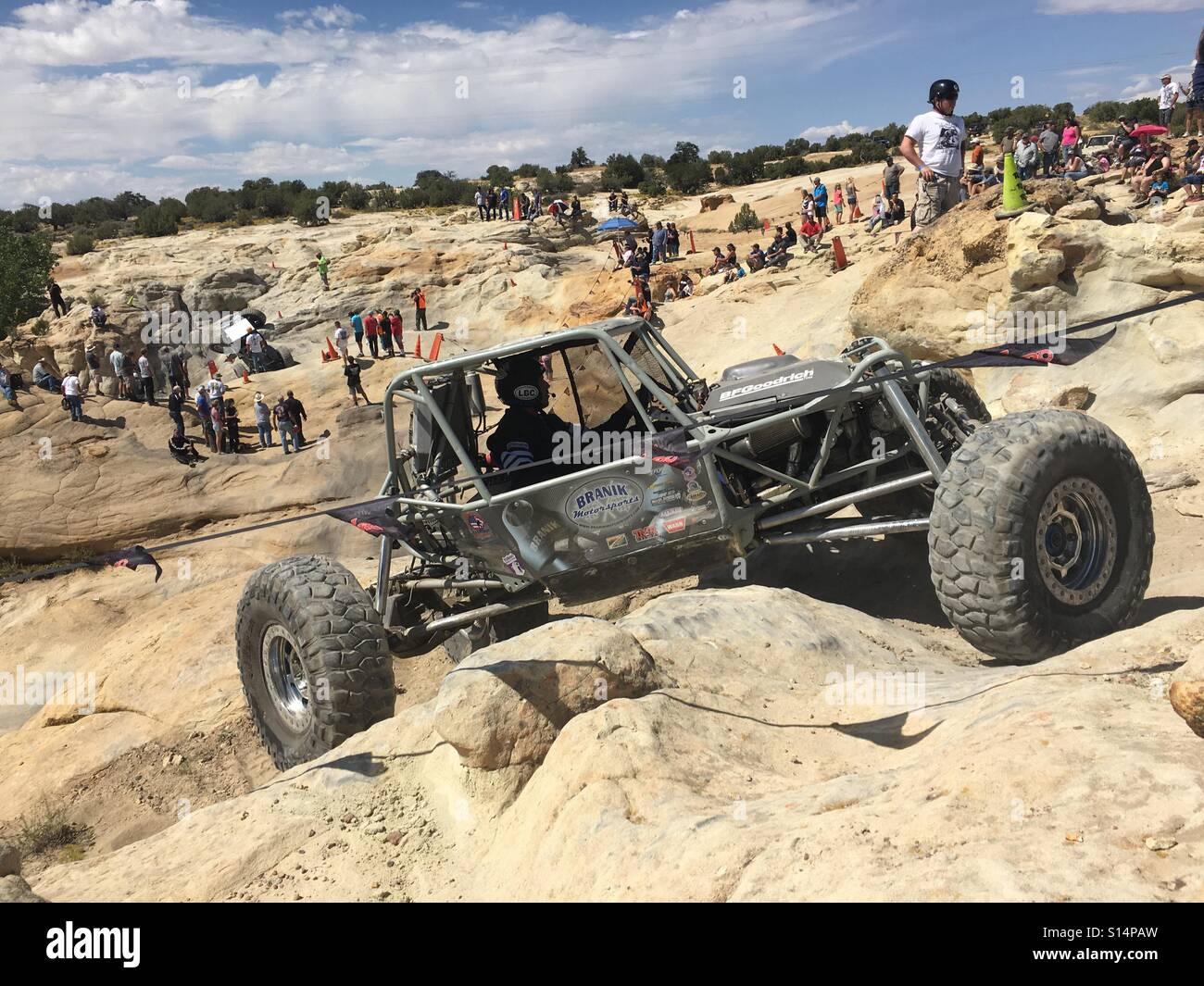 Finals rock crawling Farmington,NM Stock Photo