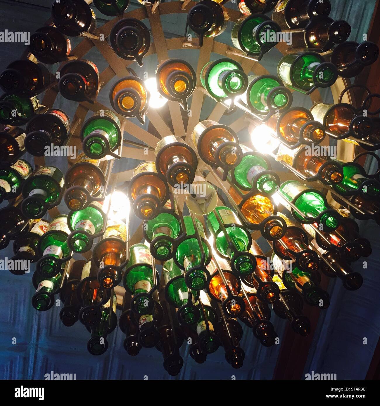 Chandelier Beer bottle