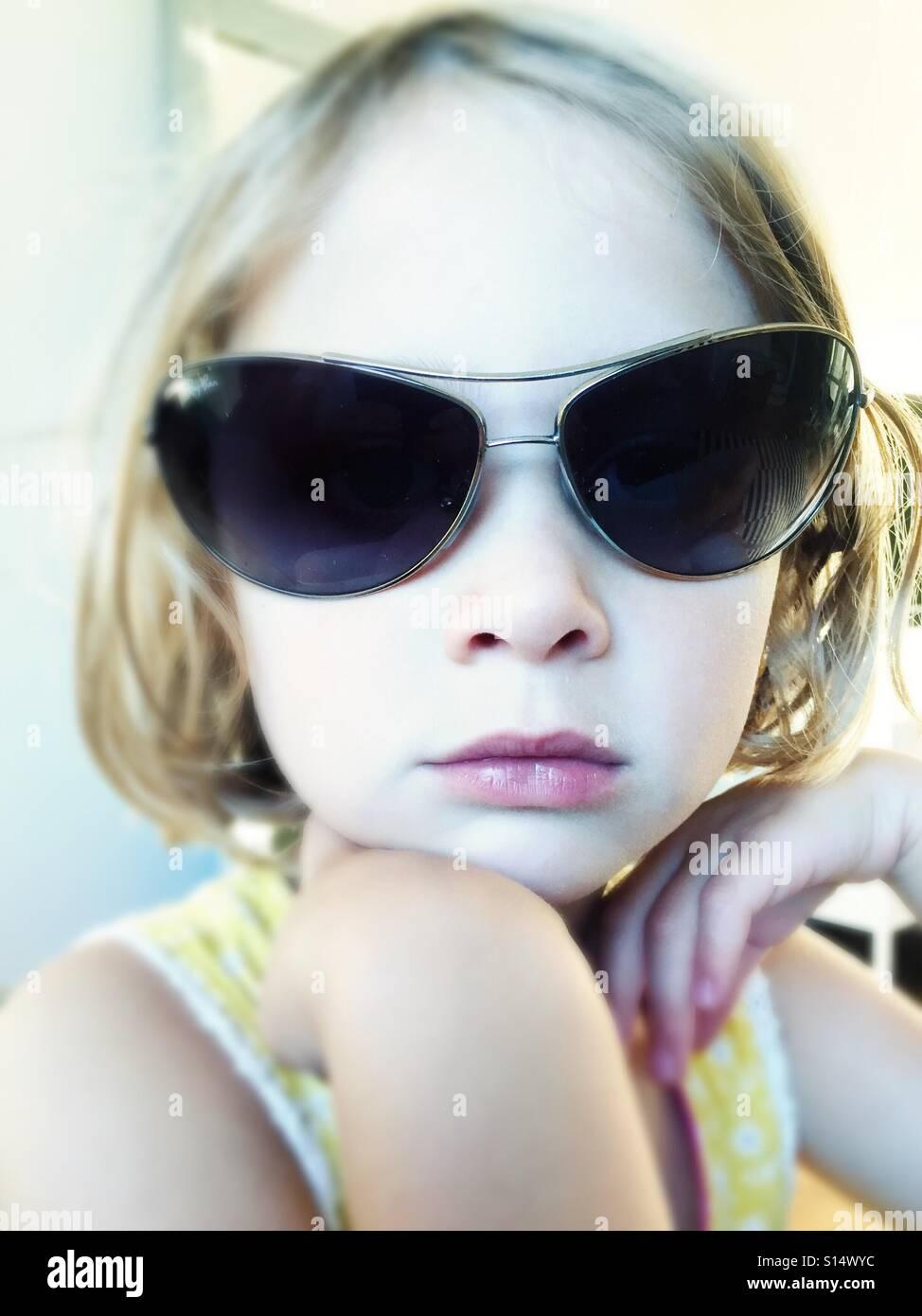 Got those sun glasses - Stock Image
