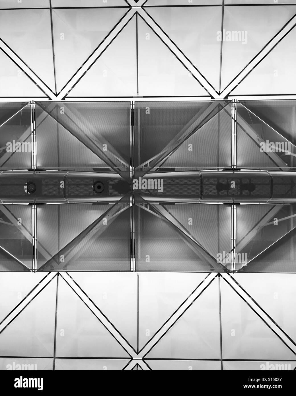 Hongkong airport. - Stock Image