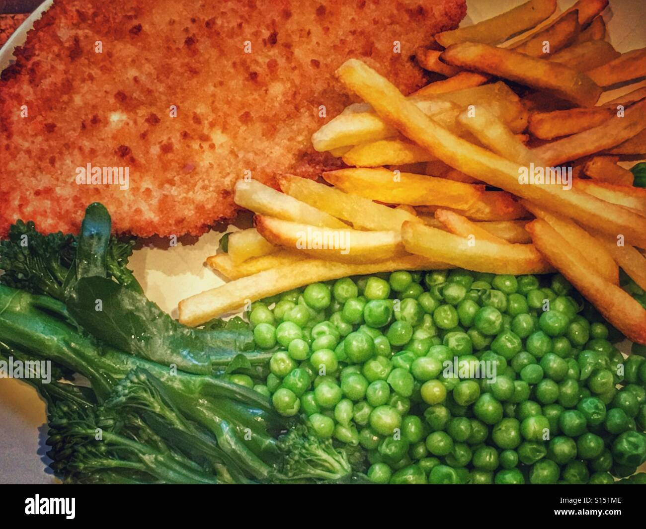 Fish & Chips - Stock Image