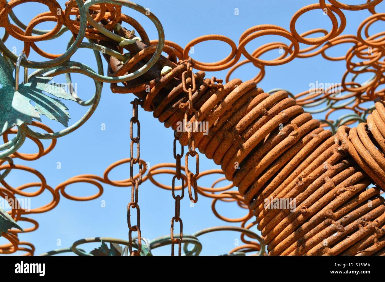 alamy stock photo rust rusty rings images photos image