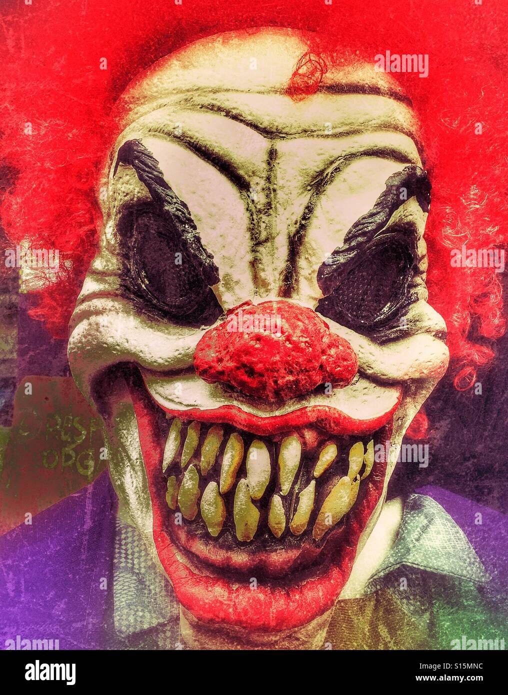 scary clowns stock photos scary clowns stock images alamy